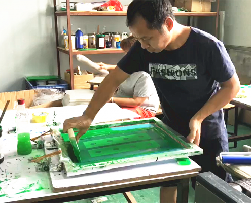 acrylic display manufacturer Silk Printing Workshop