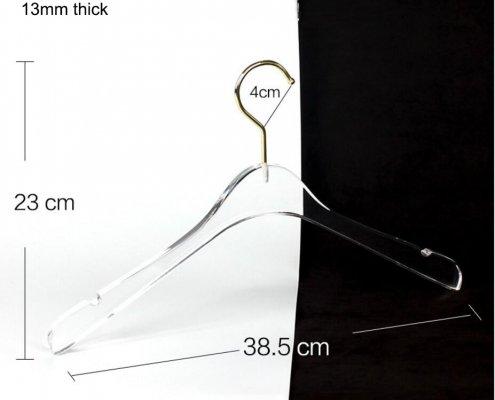 Chinov-Acrylic Coat Hanger