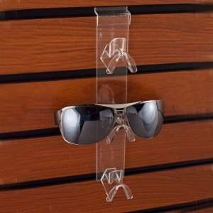 Acrylic Slatwall Sunglass Holder Sunglass Eyeglass Display Rack