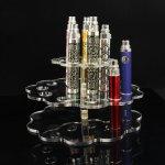 B004 Acrylic Rotating Vape Station E-cigarette 19 Holes Counter Top Display