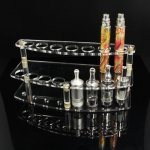 B008 Acrylic Vape Display Tiered Stand 15pcs Battery Holder