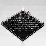 B016 Acrylic Vape Display Tray For 38pcs Subtank, Protank RDA and E-liquid