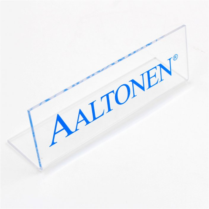bent acrylic signs