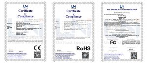 acrylic displays certificates
