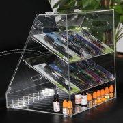 E002 Acrylic E-liquid Display Cabinet E-juice Showcase