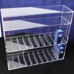 E005 Acrylic Vape Cabinet E-liquid Display Case