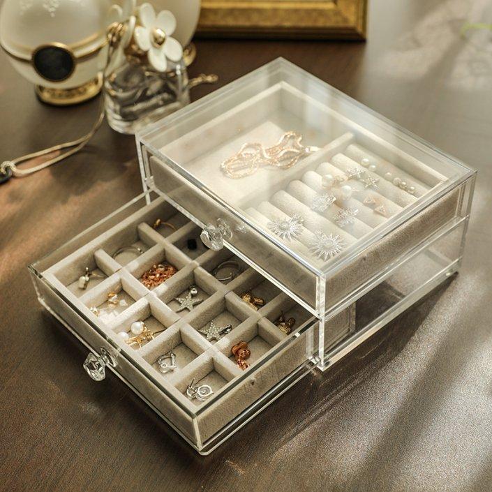 Fashion-Acrylic-Jewelry-Storage-Box-Makeup-Organizer-Ring-Earring-Case-Necklace-Pendants-Jewelry-Tray-Jewelry-Display