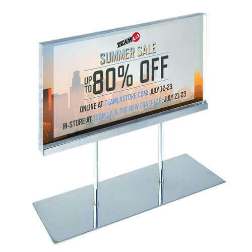 acrylic poster stands