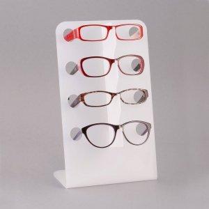 acrylic eyeglass frame standframe risers