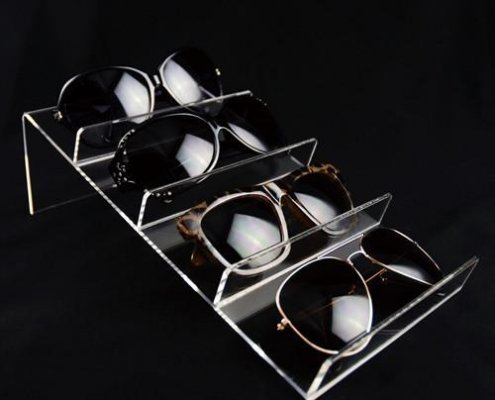 acrylic sunglass space tray