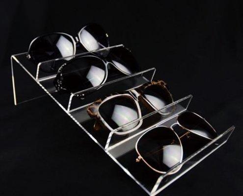 acrylic sunglass space tray