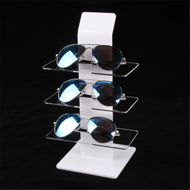 countertop acrylic sunglass display shelf
