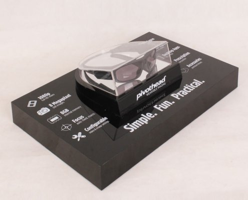 Acrylic Point of Sale Sunglass Display Riser