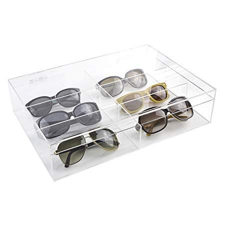acrylic sunglass storage display boxes