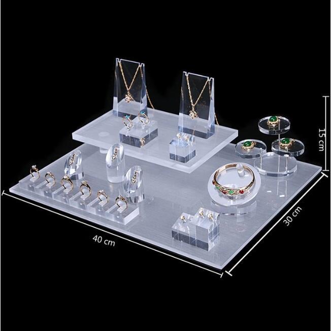 countertop custom jewelry display case