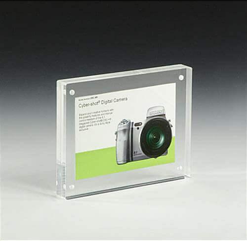 acrylic frame sign holder