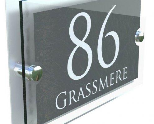 acrylic door signs