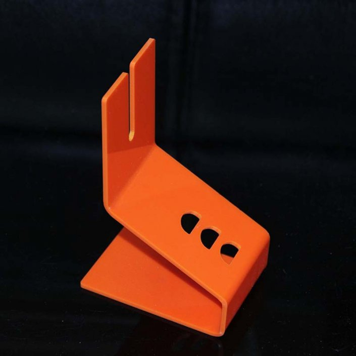 S012 e cigarette holder stand EVOD acrylic display stand