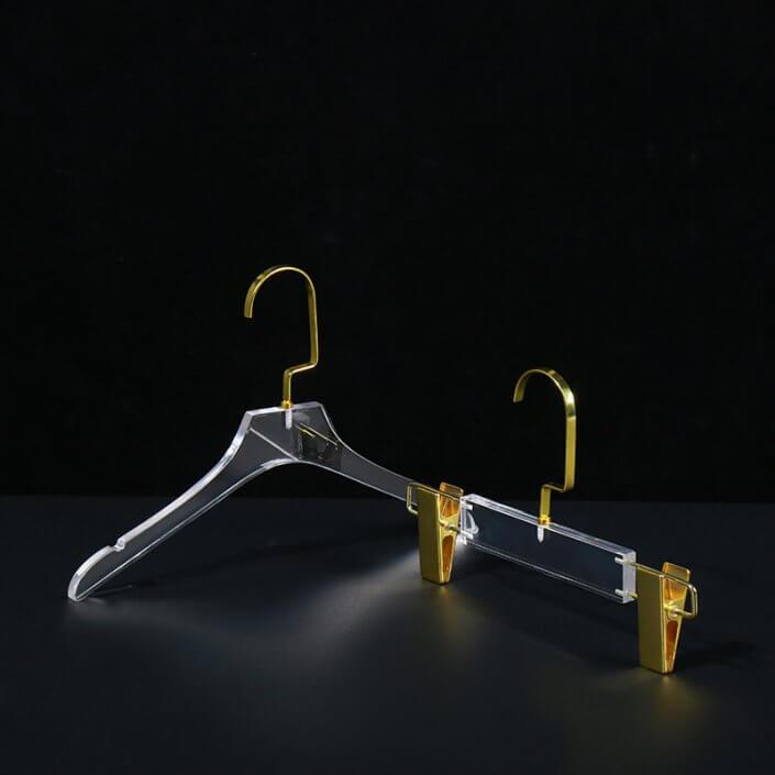 acrylic dress hanger manufacturer