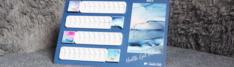 acrylic nail color chart