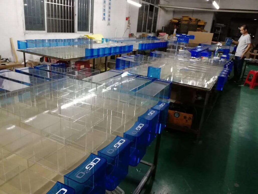 acrylic display factory china