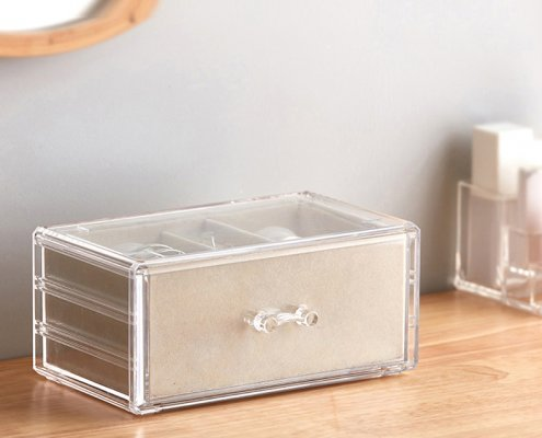 Flannel Jewelry Storage Box