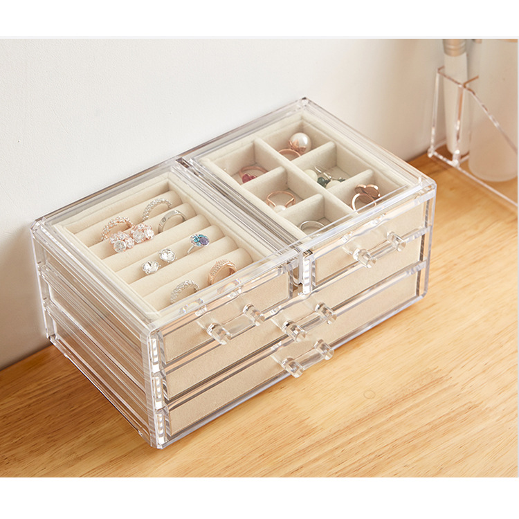 Jewelry Display Boxes with Lids 404 1
