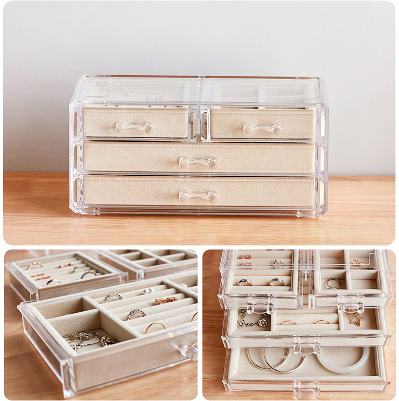 Jewelry Display Boxes with Lids 404 3