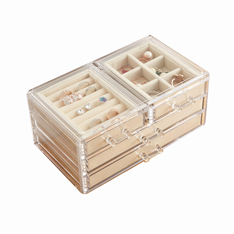 Jewelry Display Boxes with Lids 404