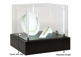 J01 jewelry display box lighted display cabinet