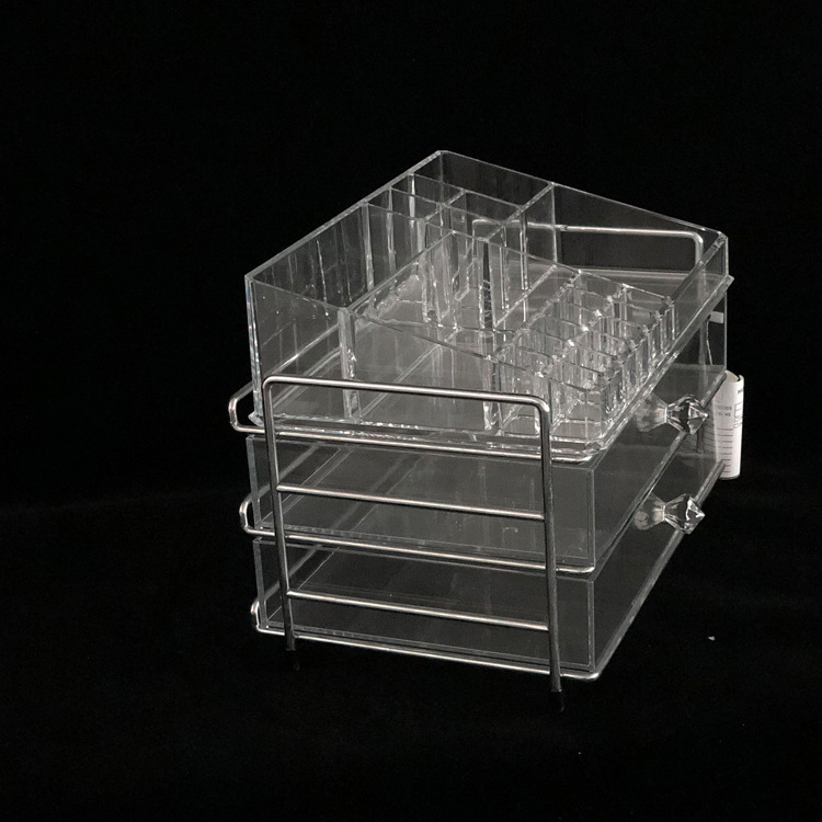 Acrylic Cosmetic Jewelry Rectangular Storage Box