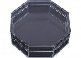 Octagon Dust-Proof Acrylic Box