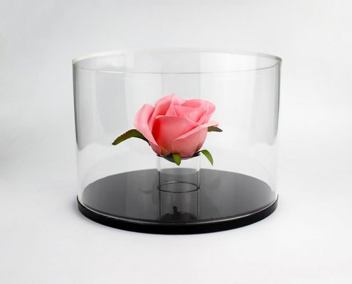 Clear Acrylic Flower Box