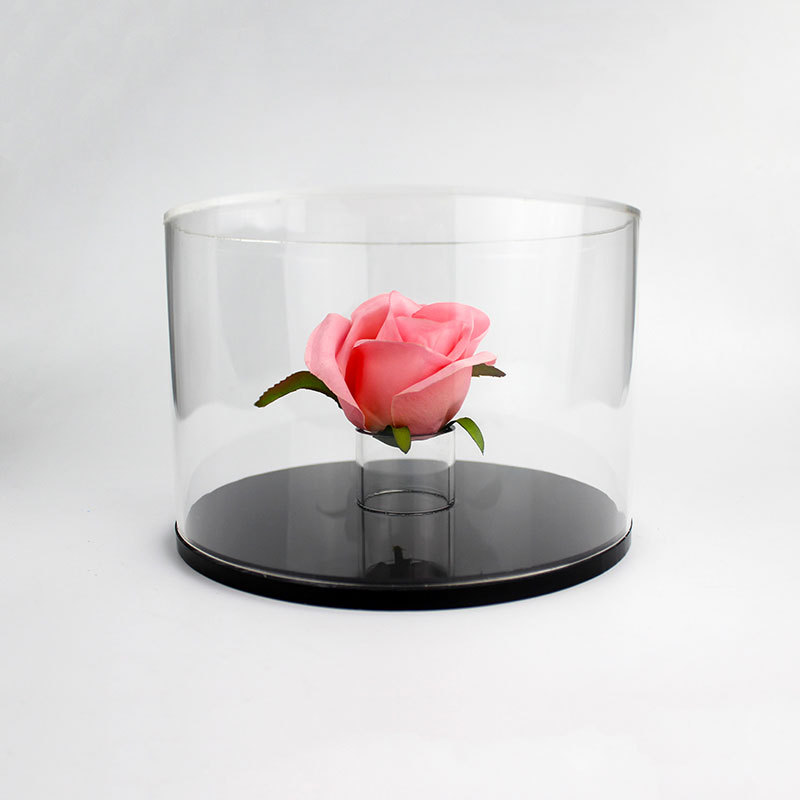 Clear Acrylic Flower Box Qcy 15256 1