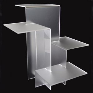 small acrylic display stands with higher weight capacity