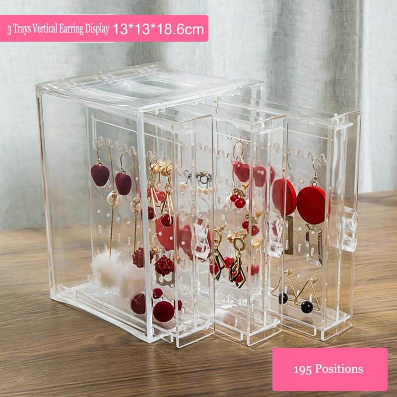 earring card display rack earring display holder