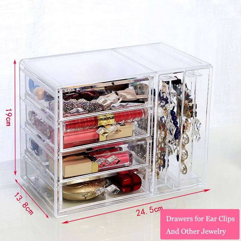 vertical earring display cases portable