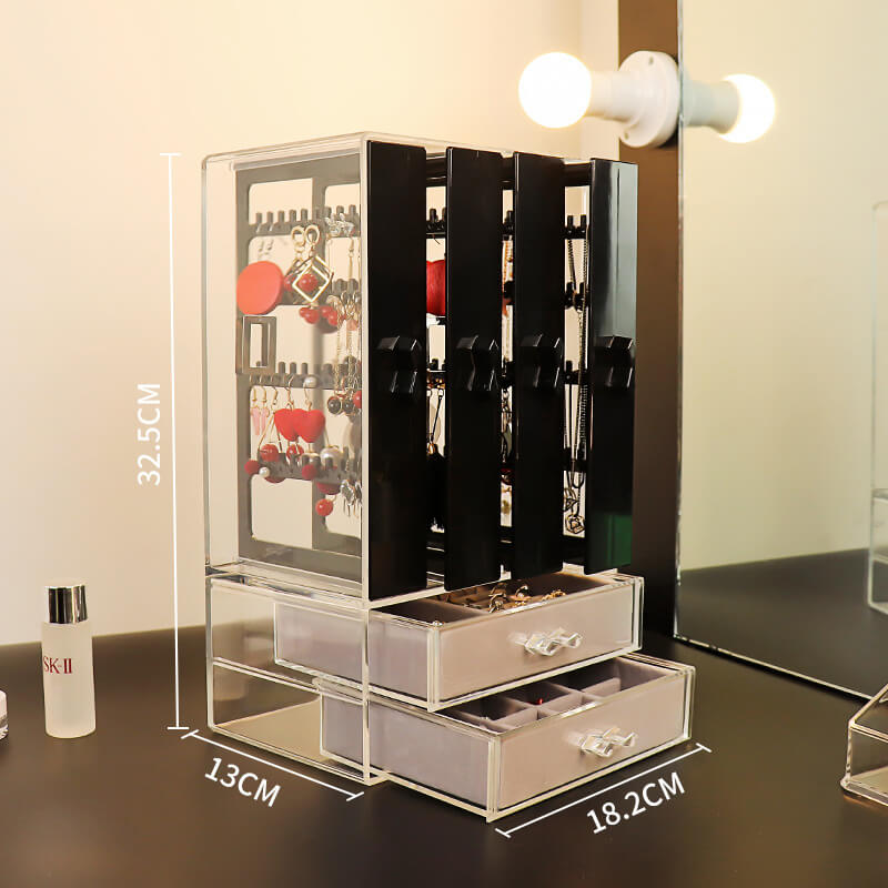 acrylic earring display stand vertical