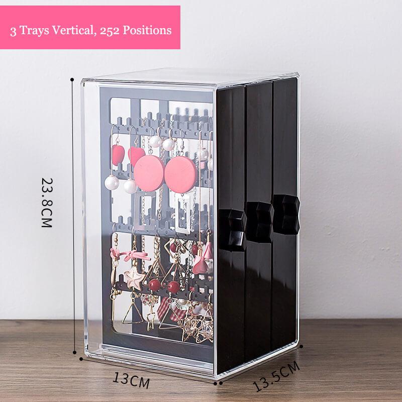 tall necklace display plexiglass jewelry box