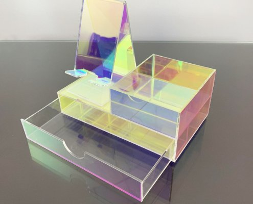 Colorful Jewelry Tabletop Display acrylic jewelry stand