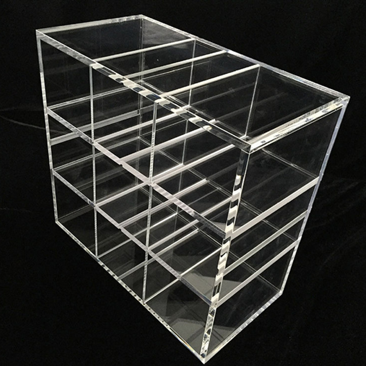 clear acrylic tray with divider 4672748089 1398449847