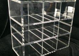 custom acrylic tray square acrylic tray