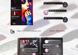nail polish colour display custom acrylic display