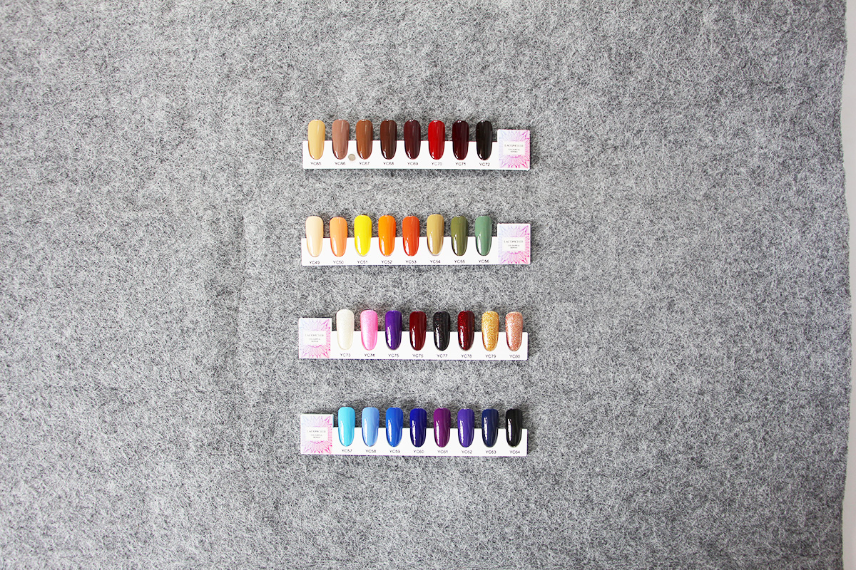 nail colour display book nail tip display