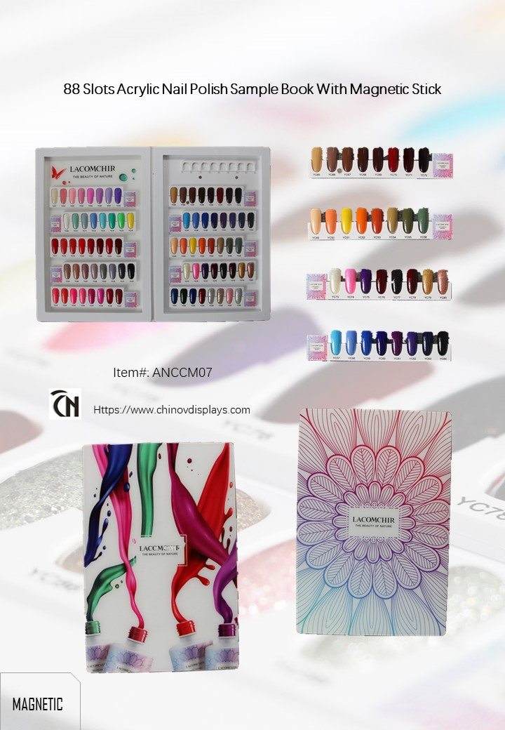 Nail Colour Display Book