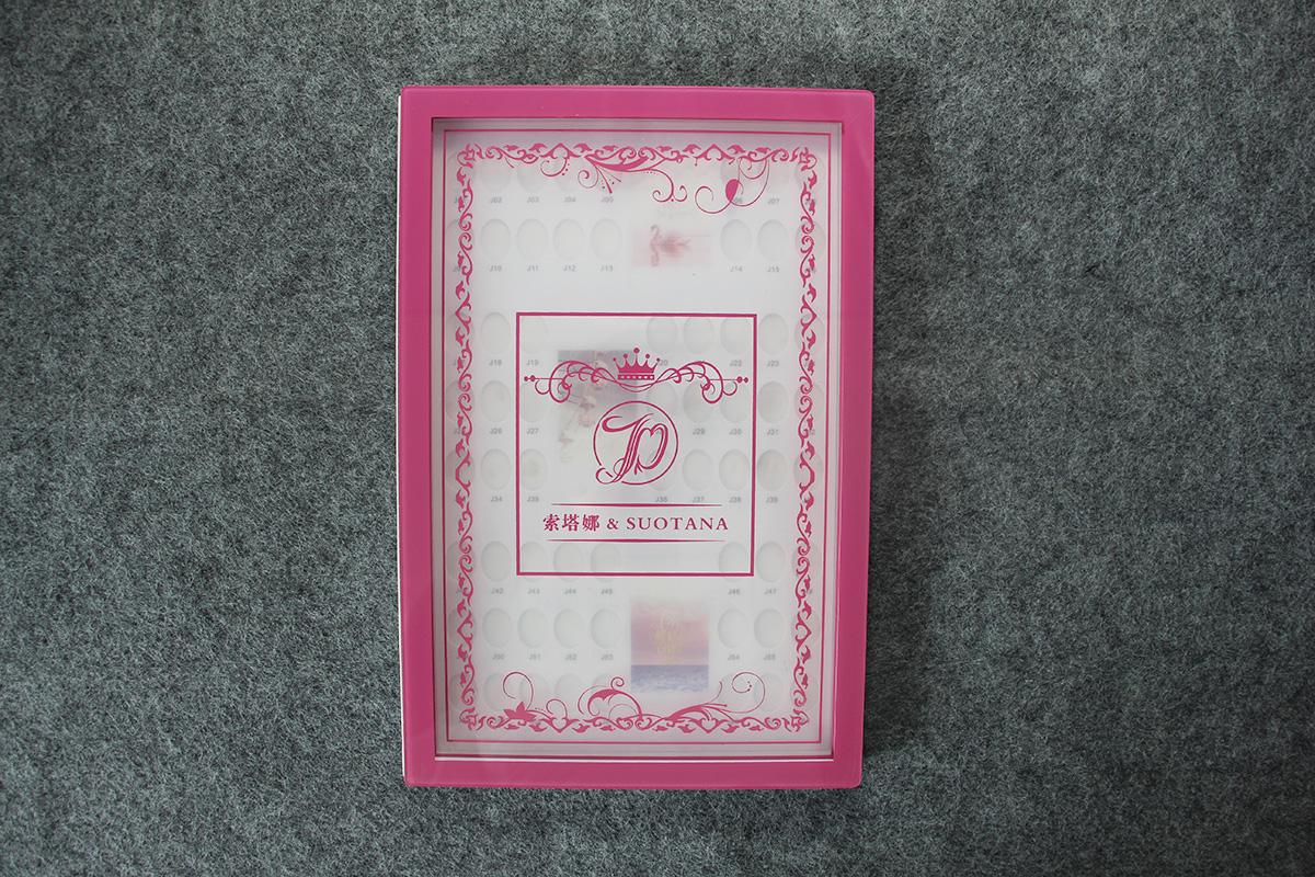 nail tip display nail art display book