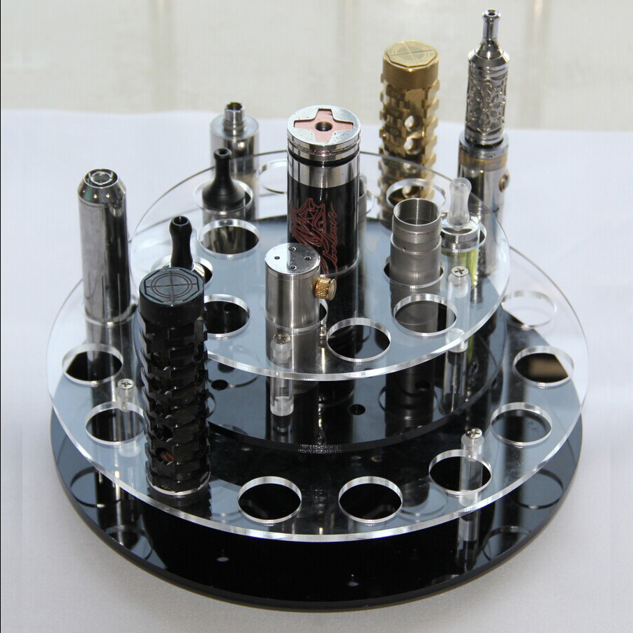 K006 Acrylic Vape Kit Rotating Stand