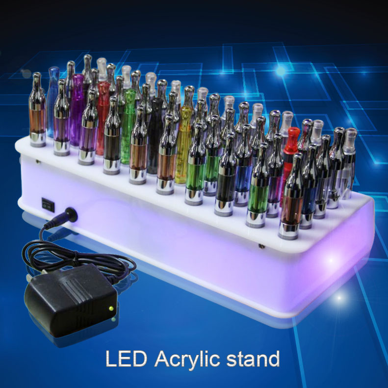 acrylic led vapor display case electronics display stand