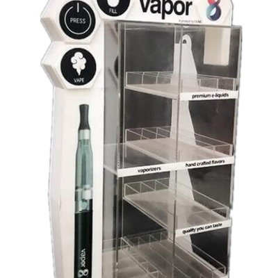 Custom Acrylic Vapor POP Display Case