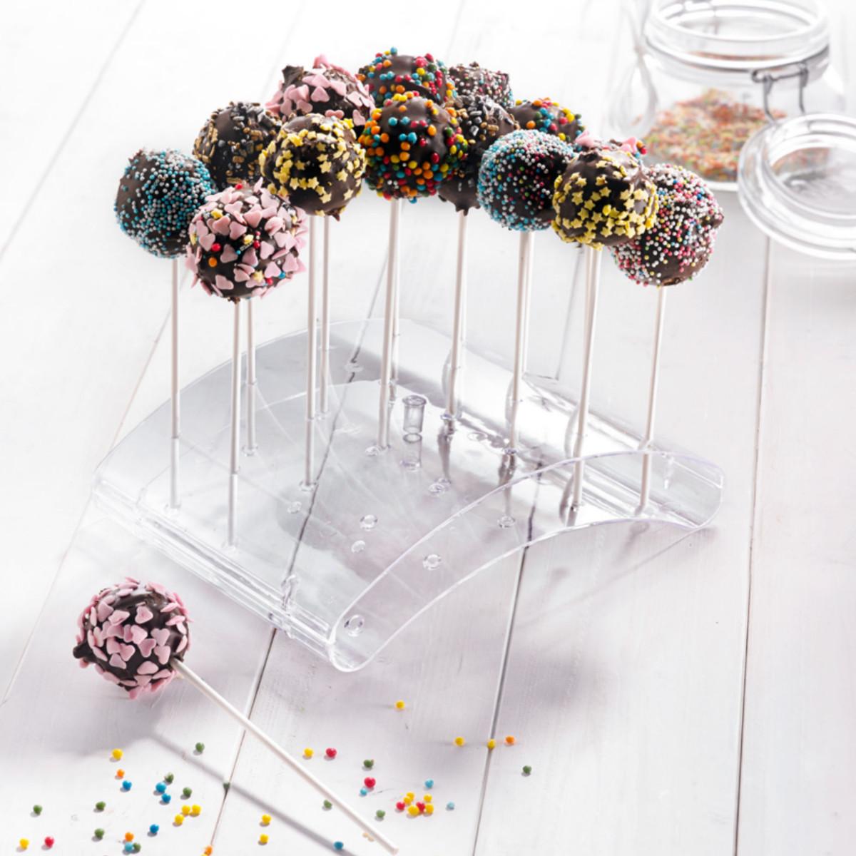 Arcual Clear Acrylic Cake POP Display Stand